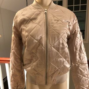 NWT topshop quilted jacket US 4/ small